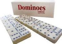 Domino 28 el +pudełko gra logiczna planszowa nowa