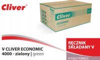 Ręcznik papierowy Cliver Economic zielony 4000szt.