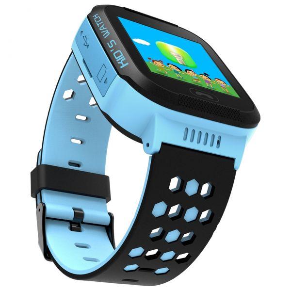 Zegarek smartwatch dla dzieci z lokalizatorem GPS KIDS SOS - niebieski zdjęcie 2