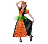 strój DYNIA dama sukienka HALLOWEEN bal 120/130