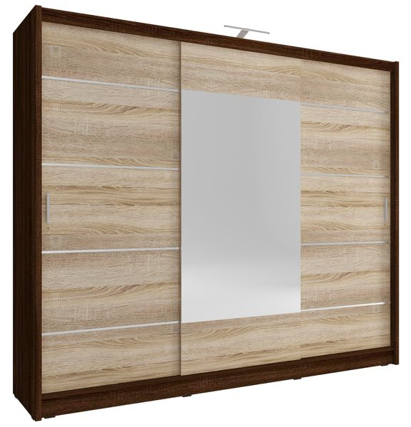 Szafa AWENA PLUS 250cm,garderoba,lustro,sypialnia,przedpokój 4 kolory! zdjęcie 3