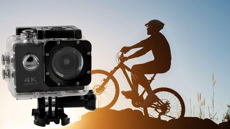 Kamera sportowa 4K Ultra HD wi-fi wodoszczelna do 30 metrów T273 zdjęcie 2