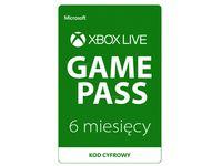 Subskrypcja Xbox Game Pass 6 miesięcy
