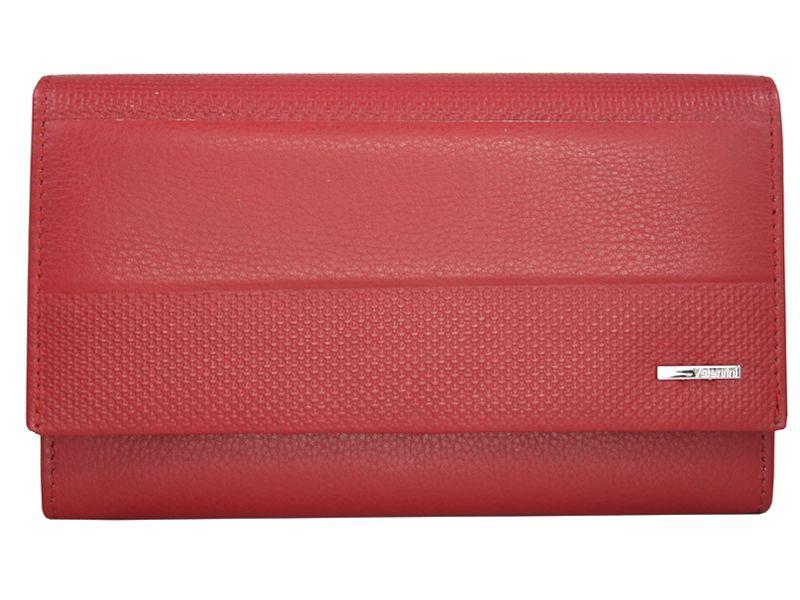 55635060e25f9 Klasyczny rozbudowany skórzany portfel damski Valentini