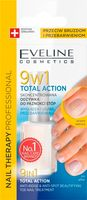 EVELINE Skoncentrowana Odżywka do Paznokci Stóp 9w1 NAIL THERAPY TOTAL ACTION 12ML