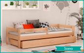 Łóżko dla dzieci HUGO 160x80  szuflada + materac