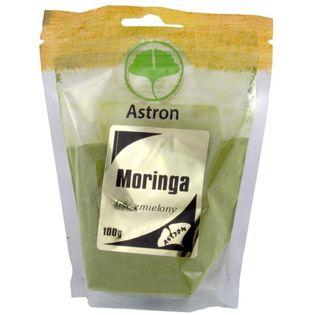 Astron Moringa Mielone Liście 250G