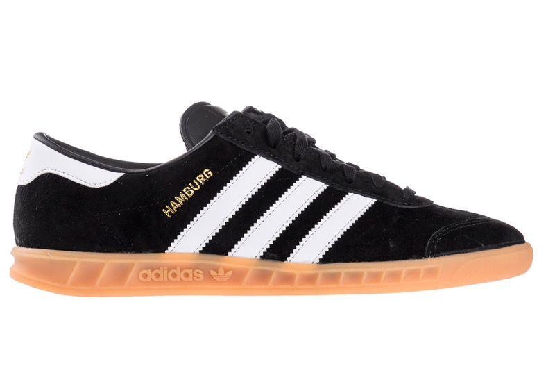 new product 73e64 834ed Adidas Gazelle Hamburg BlackWhite rozmiar 43 13 zdjęcie 1