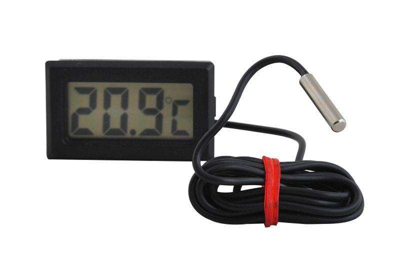 Termometr Elektroniczny LCD z Sondą do Pieca CO 488 zdjęcie 3
