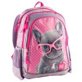 Plecak szkolny dla dziewczynki piesek paso
