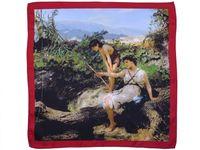 Poszetka z reprodukcją obrazu Henryka Siemiradzkiego E177