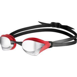 ARENA OKULARY OKULARKI COBRA CORE MIRROR SILVER-RED-BLACK