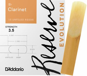 Stroik klarnet Bb 3,5 Rico RESERVE EVOLUTION