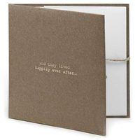 ETUI na płyty CD/DVD wesele ŚLUB brązowe stylowe