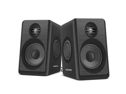Głośniki Natec Lynx 2.0 6W RMS czarne