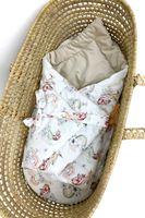 Rożek z tkaniny 100% bawełnianej premium połączonej z velvetem