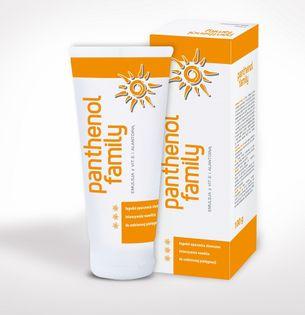 Biovena Panthenol Family Emulsja Na Oparzenia Słoneczne Dla Całej Rodziny 100G