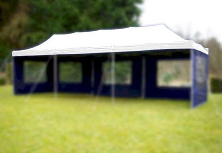 Dach do pawilonów ogrodowych 3x9m automatycznych - biały