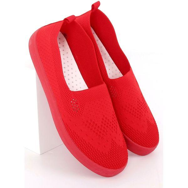 Trampki ażurowe czerwone JX63P Red r.39