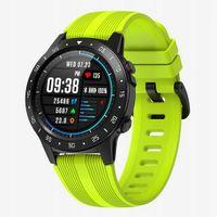 Smartwatch Zegarek Sportowy Krokomierz Fitness GPS