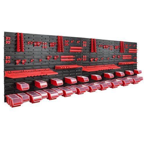Tablica warsztatowa narzędziowa 230 x 78 cm + 30 kuwet na Arena.pl