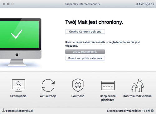 Kaspersky Internet Security 2 urządzenia / 2 lata kontynuacja na Arena.pl