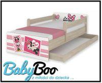Łóżko dziecięce MAX BABY BOO 180X90 szuflada barierki Disney WZORy!!