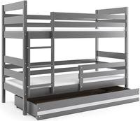 Łóżko piętrowe dla dzieci Eryk dziecięce 160x80 dwuosobowe + POJEMNIK