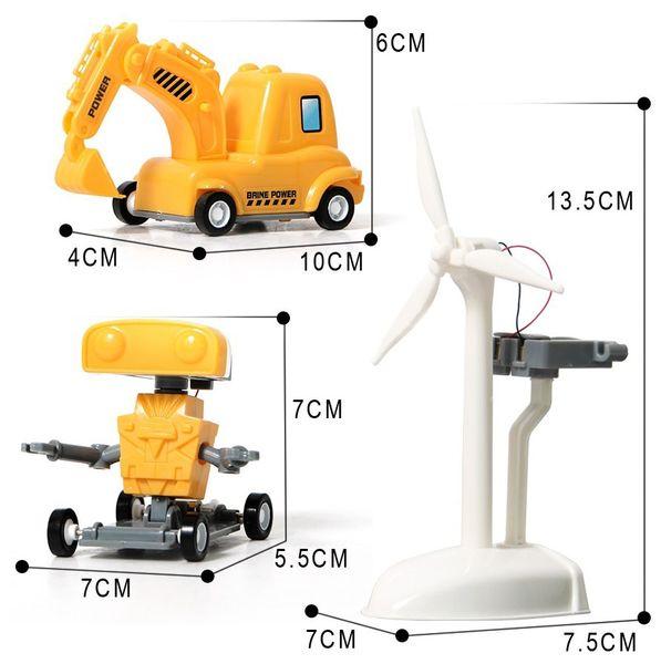 Kreatywny zestaw ROBOT SOLARNY KITS 3w1 zdjęcie 4