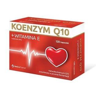 Koenzym Q10 + witamina E 120 kapsułek XenicoPharma