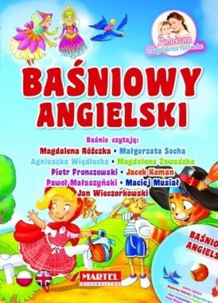 Baśniowy Angielski Cd Bajki Polsko Angielskie