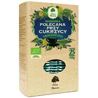 Herbatka Polecana Przy Cukrzy Eko25X2G Dary Natury