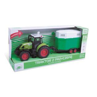 PLAYME - Traktor z przyczepą dla koni