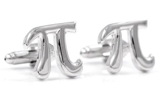 Spinki do mankietów - liczba Pi U62