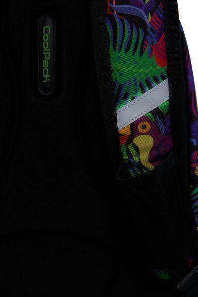 Dwukomorowy plecak szkolny CoolPack Strike L 27L, Jungle B18041 zdjęcie 5