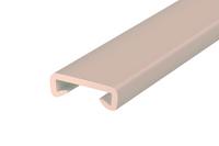 Listwa poręczowa PCV STANDARD, poręczówka 40x8 mm  beż 1mb