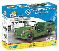 Klocki Auta Trabant 601 Kubelwagen