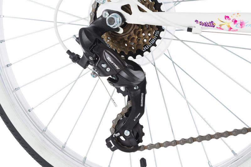 Rower 24 KANDS LAGUNA VS-1 ZWK biało-miętowy zdjęcie 11