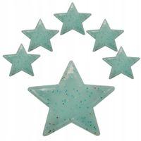 Gwiazdki Fluorescencyjne Świecące Gwiazdy Błękitne