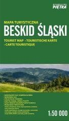 Beskid Śląski 1:50 000 mapa turystyczna PIĘTKA