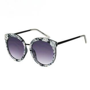 Okulary przeciwsłoneczne damskie kocie marmurek