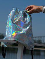 Plecak faux leather hologram Estilo Sabroso ES05315