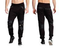 Spodnie dresowe Cipo&Baxx CR105 L SKÓRA ZAMKI