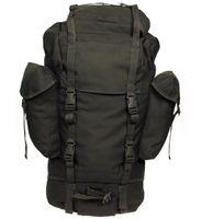 Duży plecak BW turystyczny 65 l oliwkowy