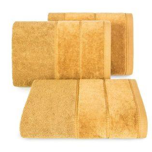 Lumarko Ręcznik MARI 70x140cm musztardowy