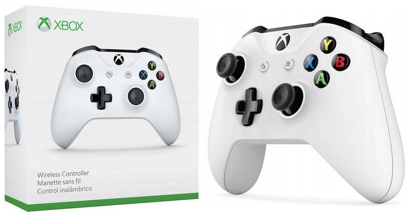 NOWY Oryginalny kontroler Pad Xbox One S Biały zdjęcie 1