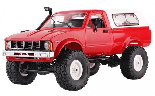 Samochód OFF-ROAD WPL C-24 (1:16, 4x4, 2.4G, LiPo) - Czerwony
