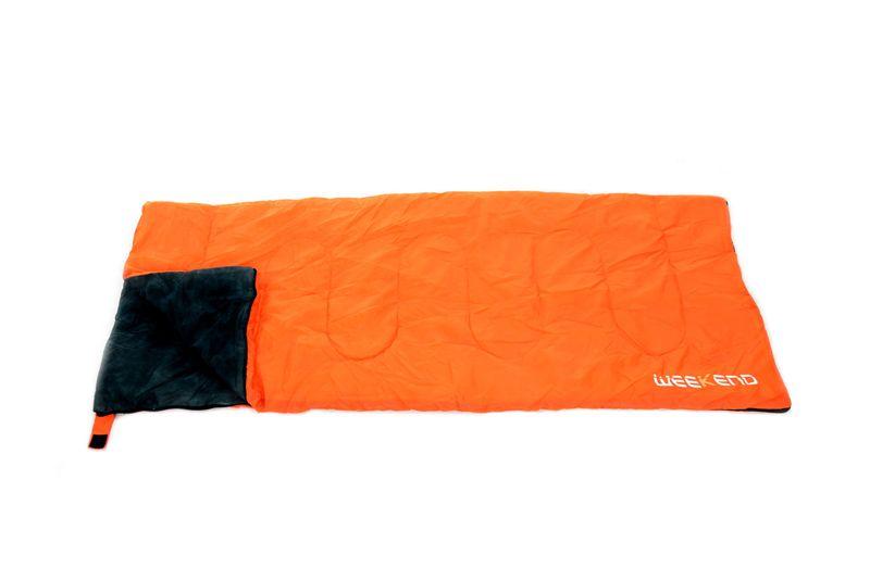 Śpiwór turystyczny Weekend Orange 3-17 C ciepły zdjęcie 2