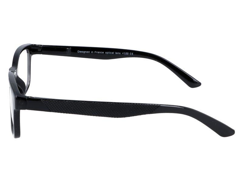 Korekcyjne okulary do czytania czarne plusy +3.50 zdjęcie 5