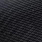 Naklejka samochodowa winyl/carbon 3D czarna 152 x 500 cm zdjęcie 2